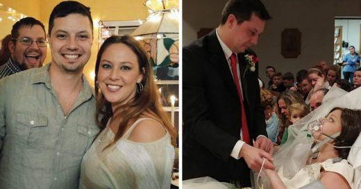 Esta mujer logró cumplir su sueño de casarse unas horas antes de morir