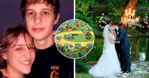 Se conocieron jugando Neopets y 14 años después decidieron casarse