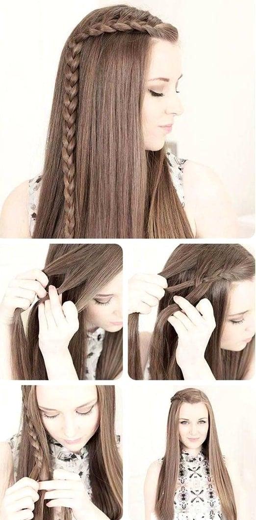 10 Peinados Para Cabello Largo Que Se Hacen En Diez Minutos