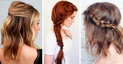 15 Peinados perfectos para usar en San Valentín; dale a tu cita un toque de glamour