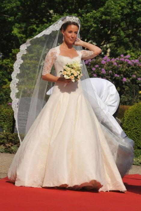 princesa de dinamarca vestido de novia