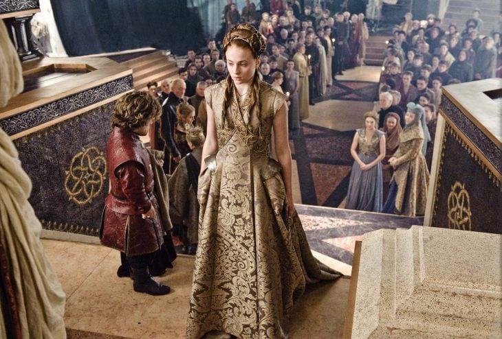 sansa stark vestido de novia