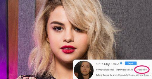 Selena Gomez eliminó a Gigi Hadid, Demi Lovato y muchos amigos más de su Instagram