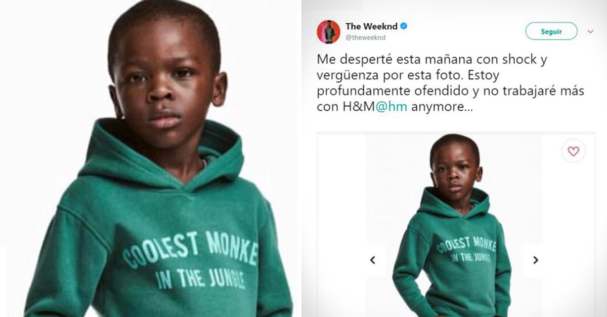 H&M realiza una campaña racista. Así reaccionaron las celebridades