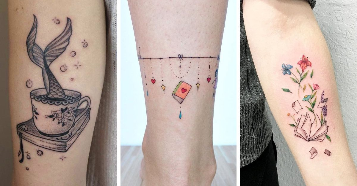 20 Tatuajes perfectos para toda amante de la literatura