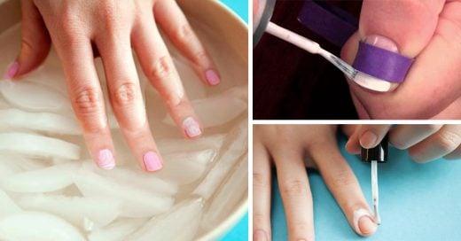 15 Tips para pintarte las uñas como experta