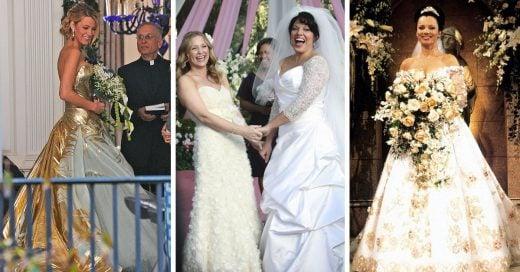 20 Vestidos de novia de nuestras series favoritas