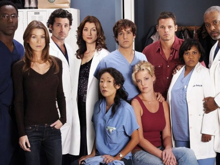 Elenco de Grey's anatomy primera temporada