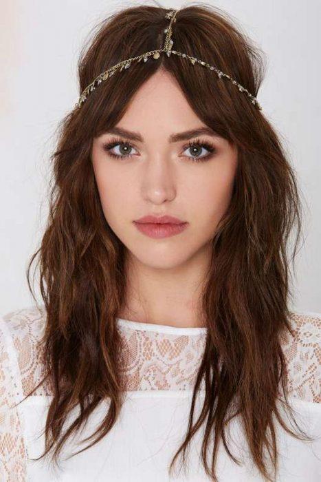 Accesorio para el cabello en forma de corona