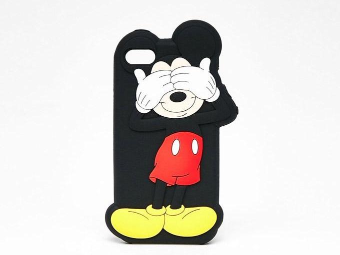 Caratula para celular con Mickey Mouse