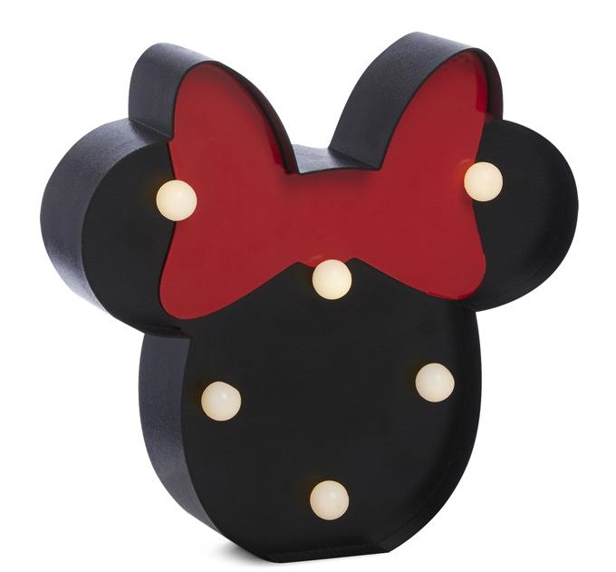 Lampara de Minnie Mouse
