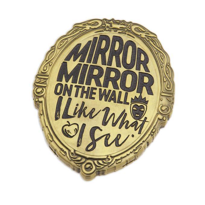 Espejo de color dorado