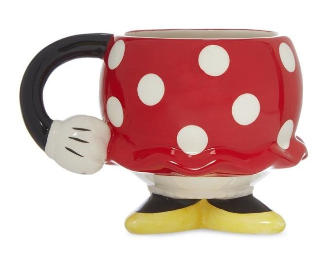 taza en forma de Minnie Mouse