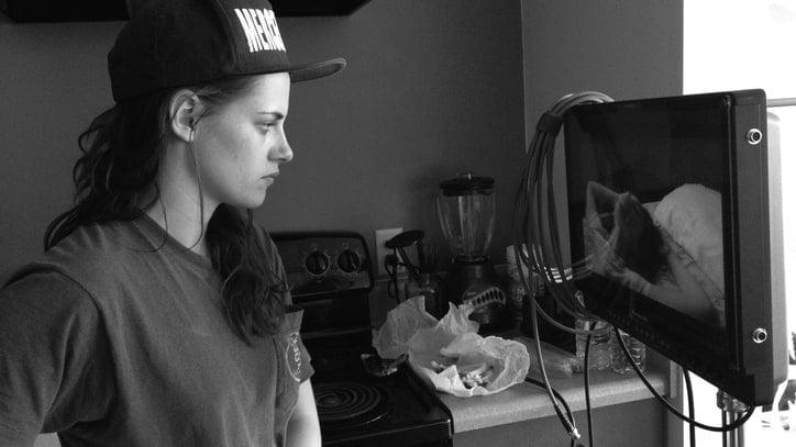 Kristen Stewart dirigiendo una película