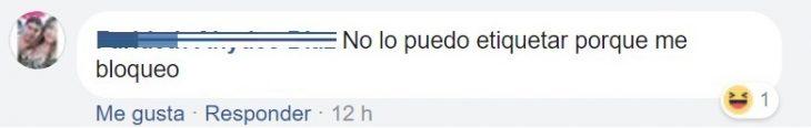 comentario en Facebook sobre agencia d viaje que regalo vuelo con ex