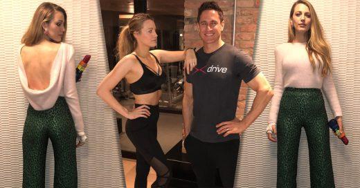 Blake Lively presume su perdida de peso después del embarazo