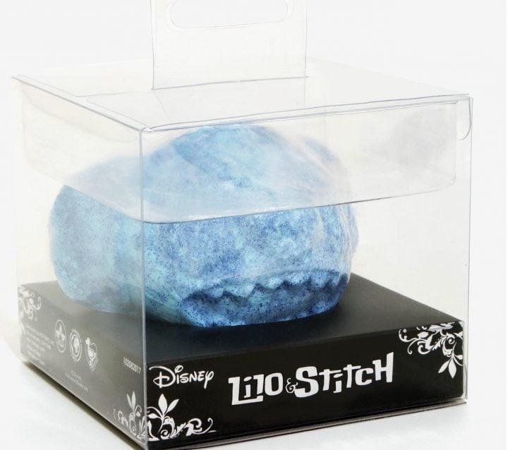 burbuja para baño de color azul