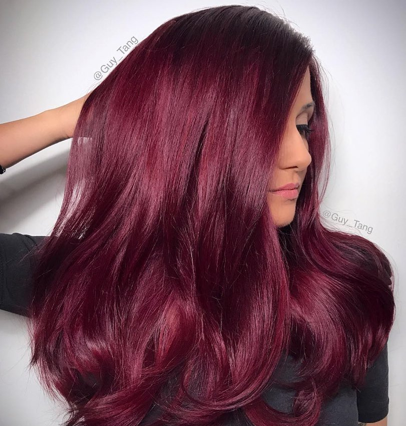 instagram llamada chica cabello rojo