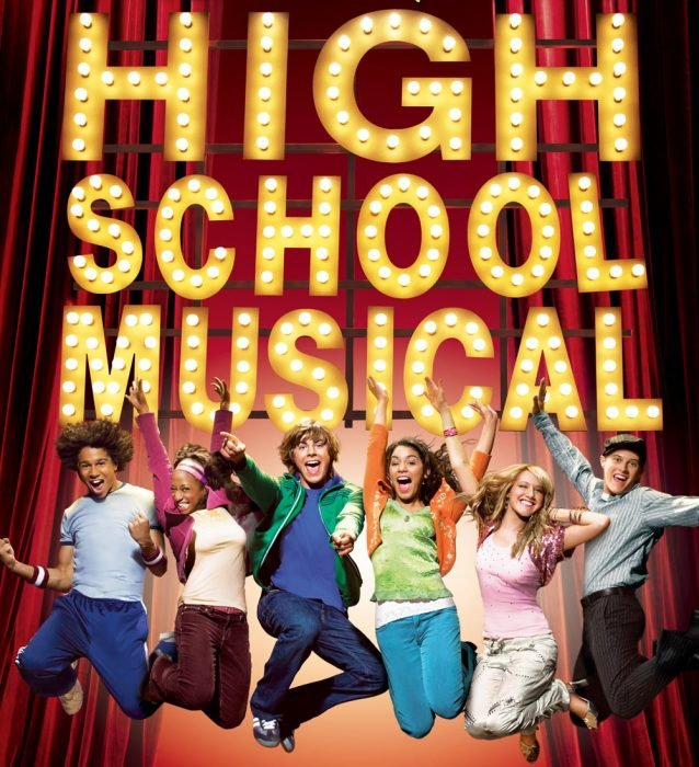 poster oficial de High School Musical
