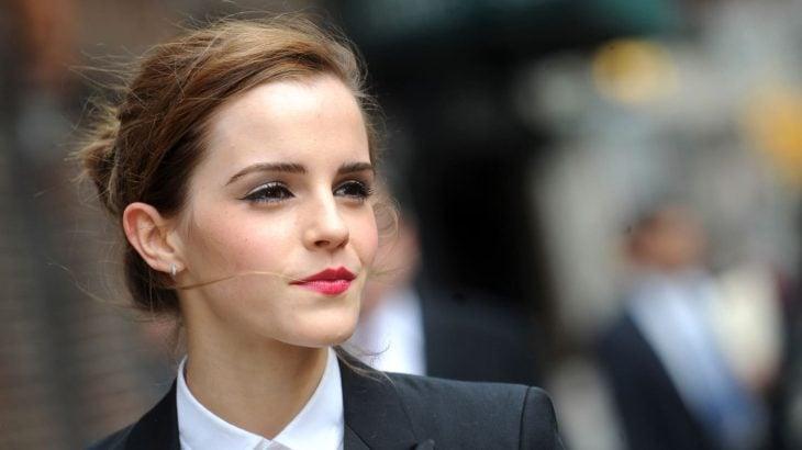 Emma Watson - chica con traje sastre