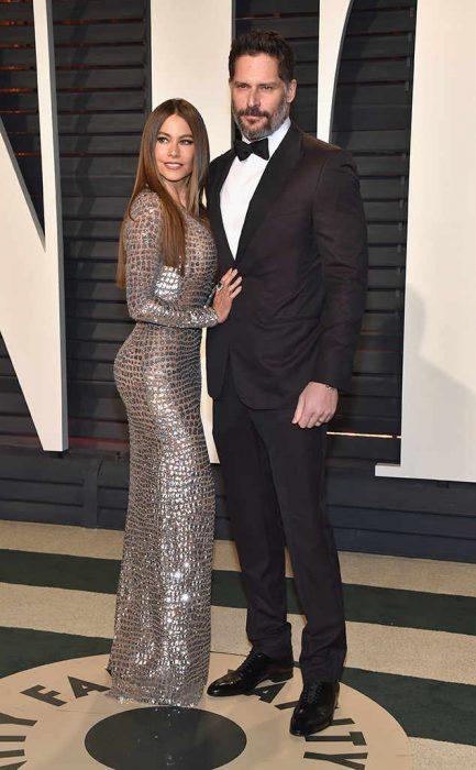 Sofia Vergara y su esposo Joe Mangaliano