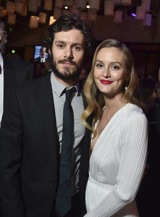 Leighton messter junto a su esposo
