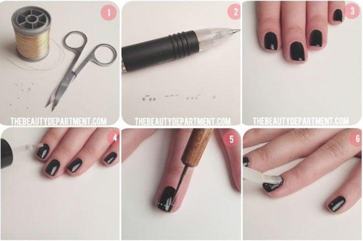 tutorial para pintar uñas