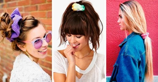 Formas de usar las donas para el cabello