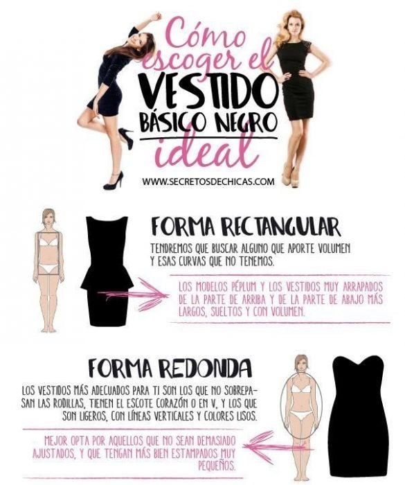 guia para elegir el vestido correcto