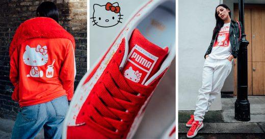 Hello Kitty y Puma juntos. Crean una colección increíble