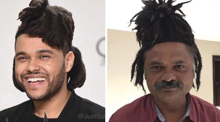 hombres con rastas en el cabello
