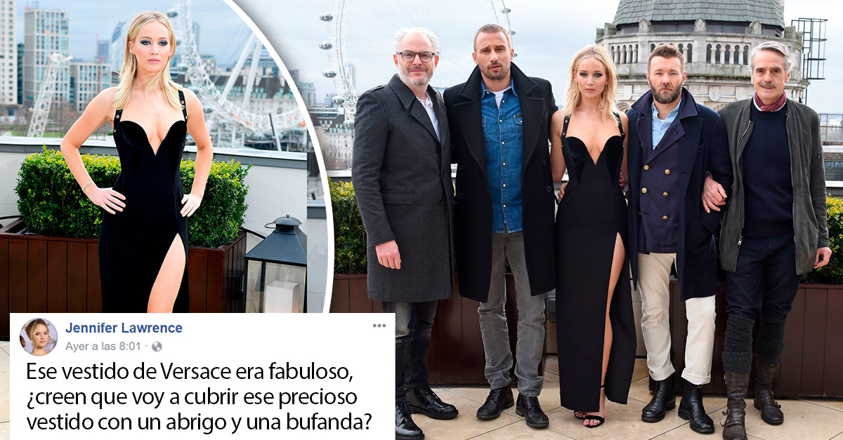 Jennifer Lawrence usó el vestido más fabuloso y sexi de la historia; ahora la critican por hacerlo