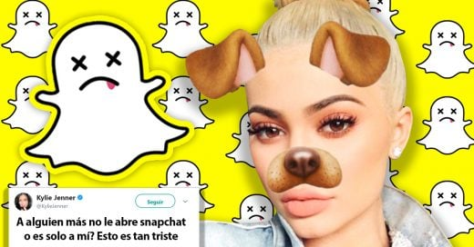Kylie Jenner hace que Snapchat pierda millones de dolares