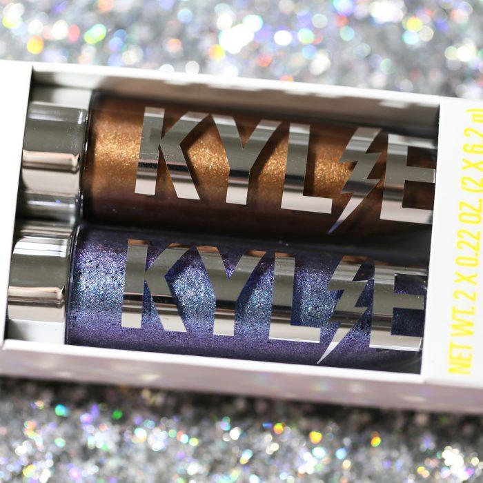 Duos de sombras de glitter de Kylie Jenner que están inspiradas en su hija stormi