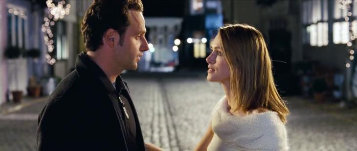 Escena de la película Love Actually
