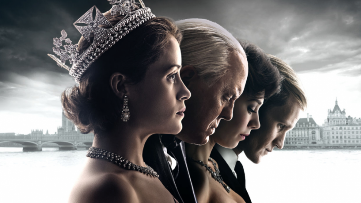 Poster de la serie The Crown