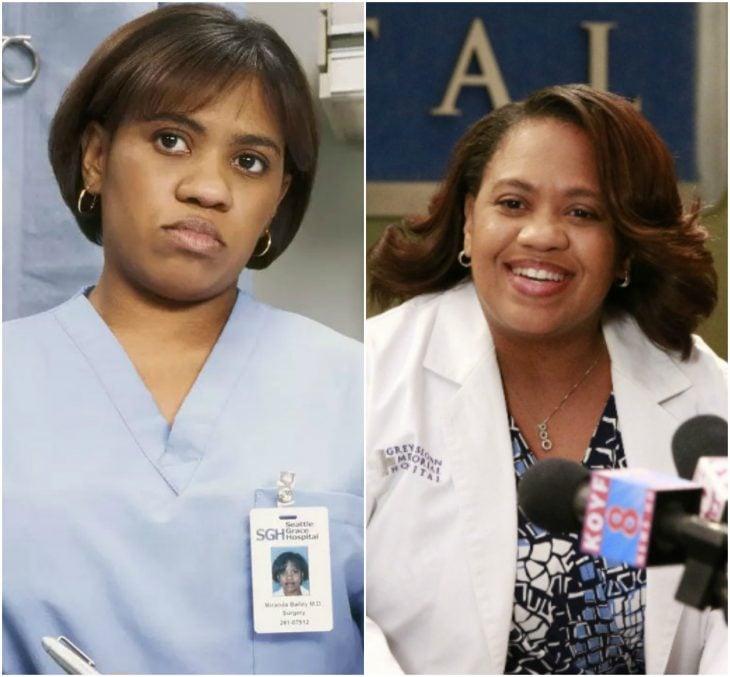 Miranda Bailey antes y después