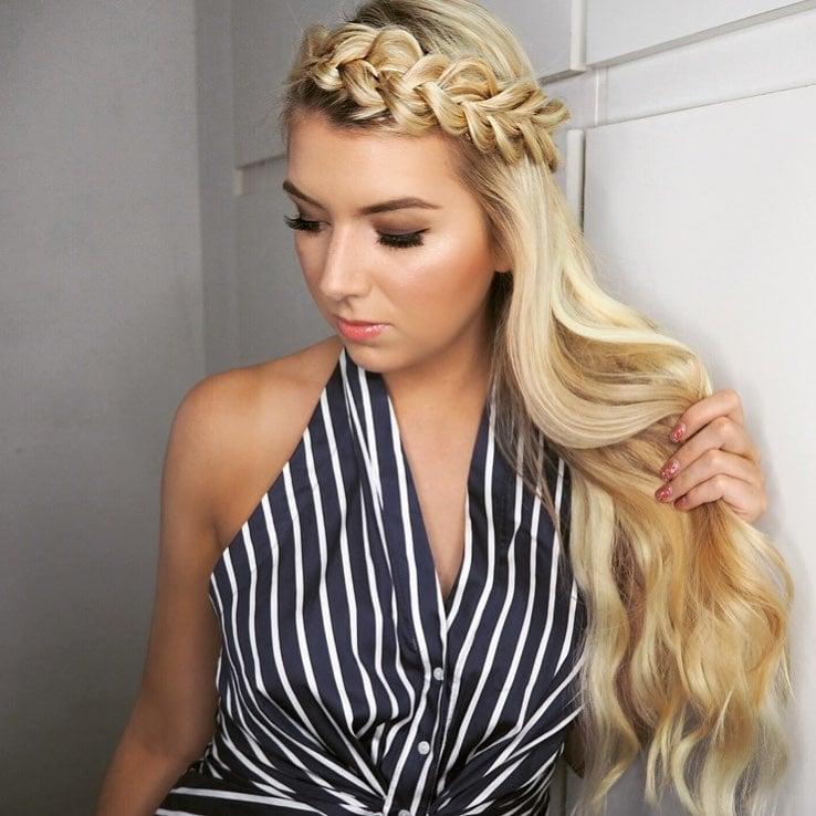 15 Peinados Que Enamoraran A Tu Crush En La Primera Cita - Peinados-romanticos-con-trenzas