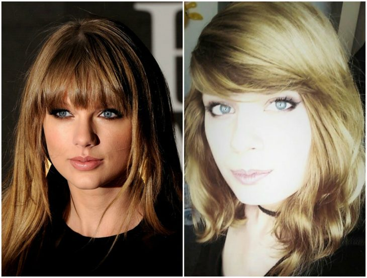 Taylor Swift y su doble