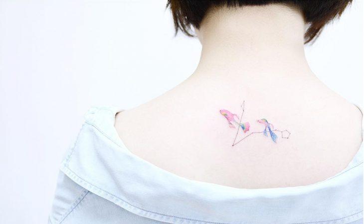Tatuajes inspirados en constelaciones
