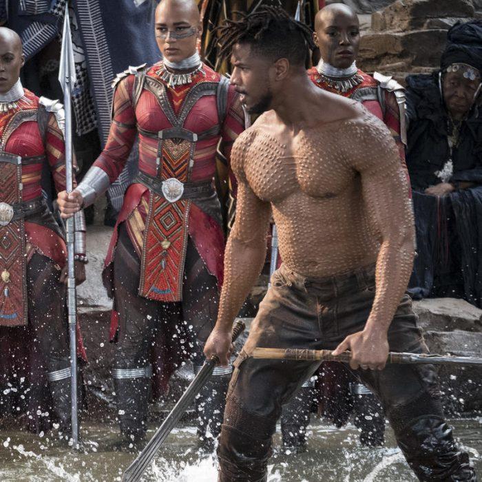 Escena de la película Black Panther