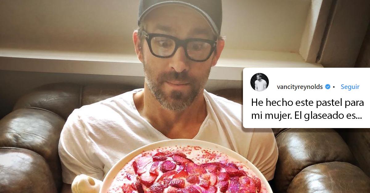 Ryan Reynolds comparte en Instagram el regalo de San Valentín para su esposa, no podrás creer lo que le dio