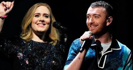 Los usuarios de Twitter, aseguran que Adele y Sam Smith son la misma persona