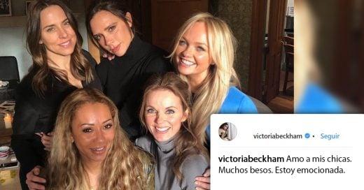 Las Spice Girls encienden las redes con una fotografía que podría significar su próximo reencuentro