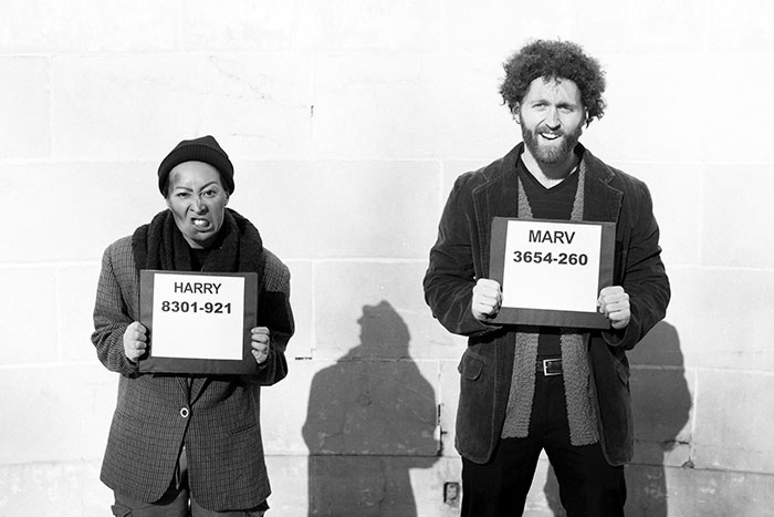 "The Wet Bandits, Marv and Harry, from ""Home Alone"