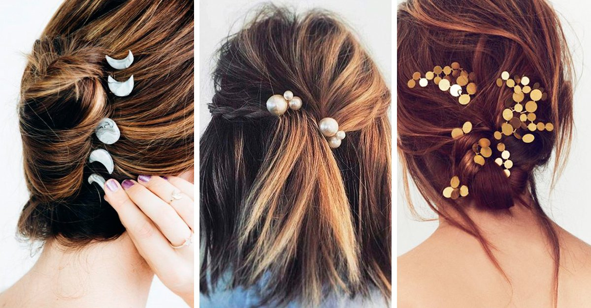 15 Ideas de accesorios que harán brillar a tu cabello