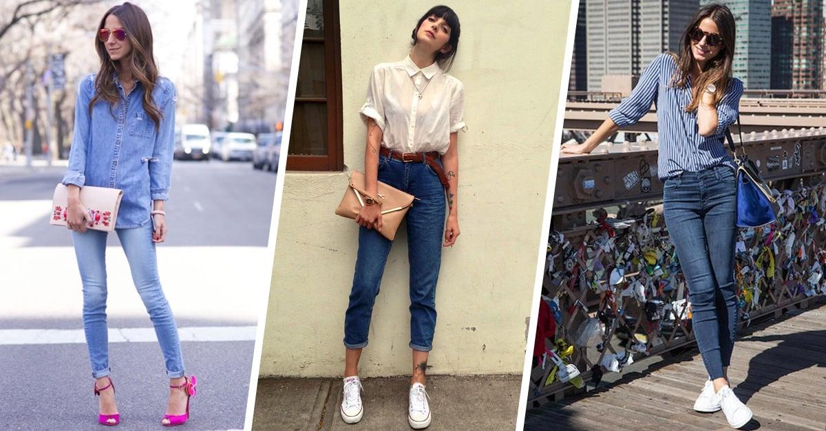 Los blue jeans de algodón están de regreso
