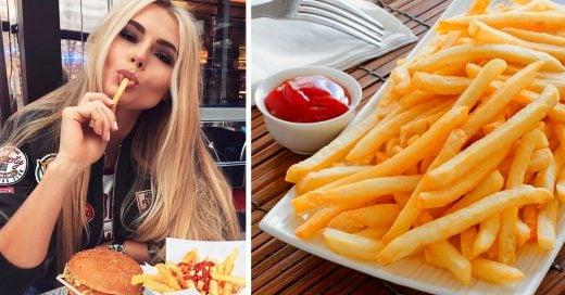 Comer papas fritas hace crecer tu cabellera el doble de largo