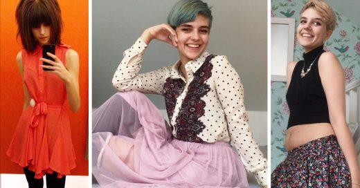 Esta chica compartió en Instagram su proceso de recuperación de la anorexia