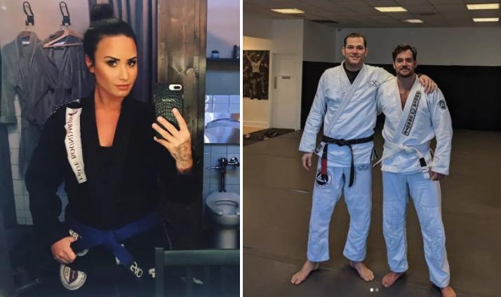 henry cavill y lovato jiu jitsu